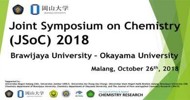 Joint Symposium on Chemistry  (JSoC) 2018